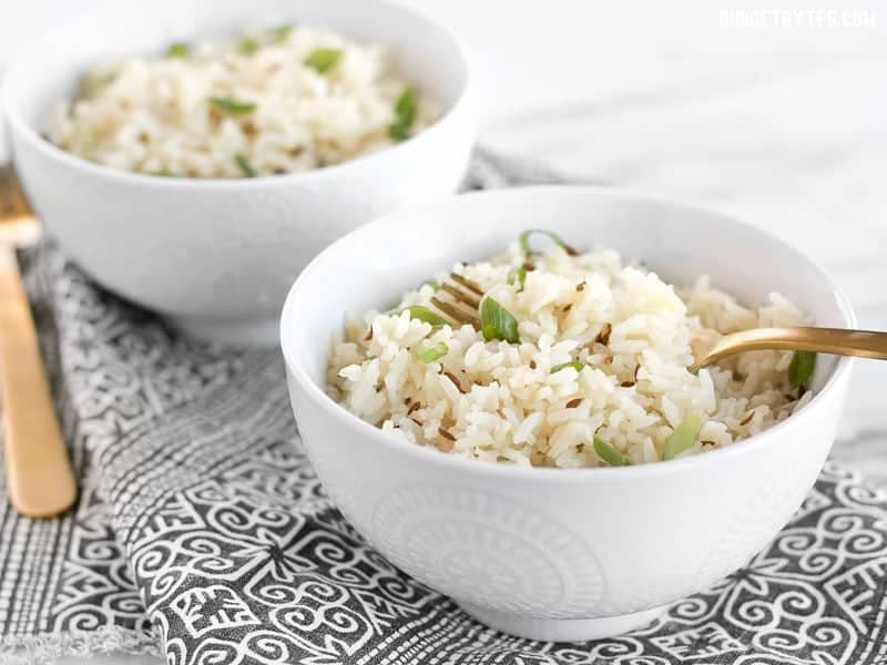 Cummin and Onion Rice Recipe