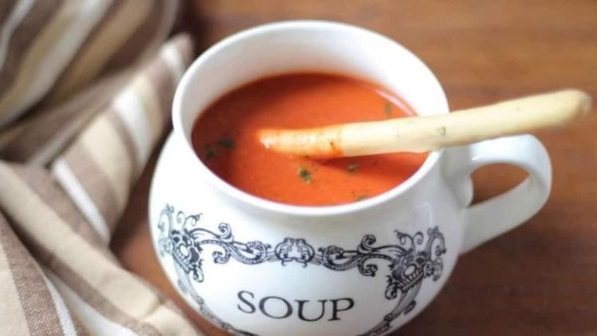 Creamy Vegetarian Indian Paneer Soup