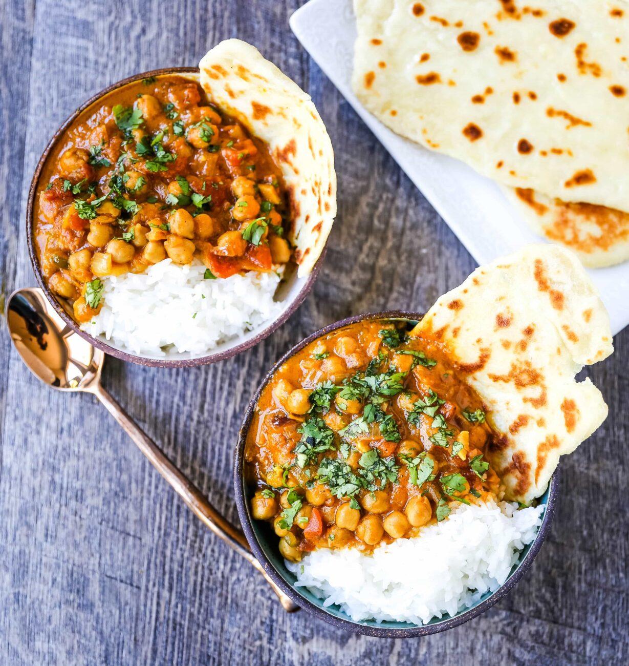 Chickpea Vegan Curry