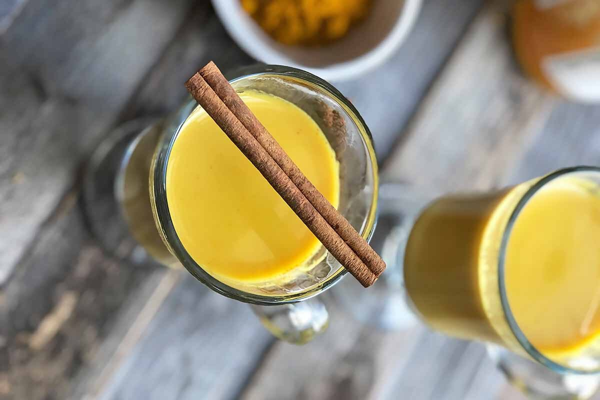 Hot and Healthy Indian Spiced Milk
