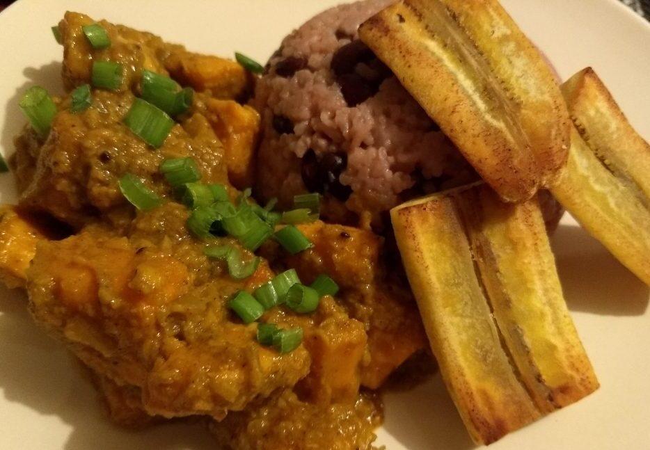 Jamaican Sweet Potato Curry